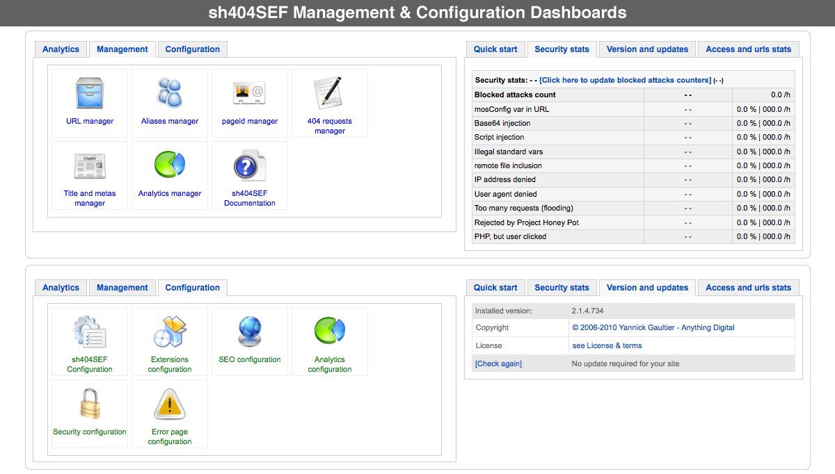 management-config-dashboard